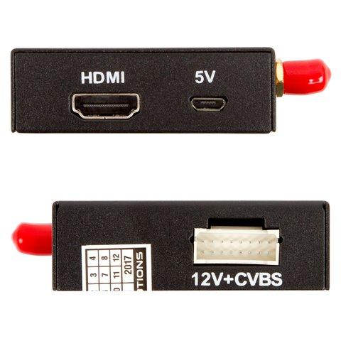 Автомобільний адаптер для дублювання екрана Smartphone/iPhone з RCA і HDMI-виходами Прев'ю 6