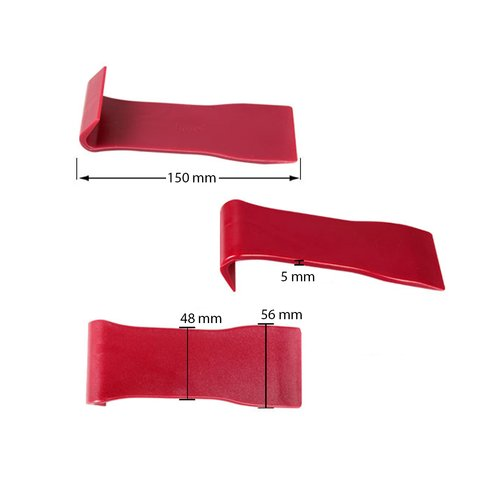 Інструмент для знімання обшивки з широкою лопаткою (поліуретан, 150×56 мм) Прев'ю 1