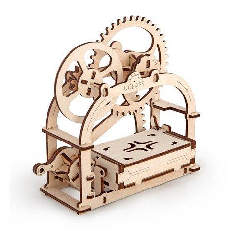 Механічний 3D-пазл UGEARS Шкатулка-візитниця Прев'ю 3
