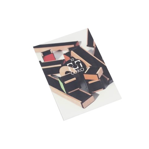 Конструктор COKO Строительные кубики 22 Превью 6