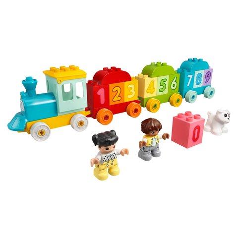 Конструктор LEGO DUPLO Потяг із цифрами – вчимося рахувати 10954 Прев'ю 2
