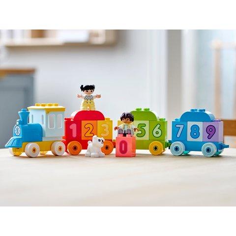 Конструктор LEGO DUPLO Потяг із цифрами – вчимося рахувати 10954 Прев'ю 6