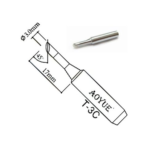 Soldering Iron Tip AOYUE T-3C Preview 1