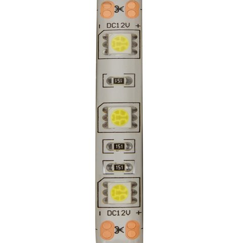 LED Strip SMD5050 (high-brightness, cold white, 300 LEDs, 12 VDC, 5 m, IP65) Preview 1